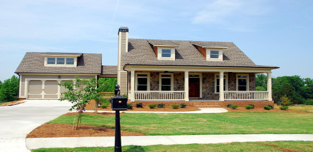 Planning your new home s exterior features united homes for Exterior features of a house