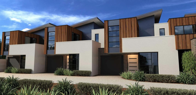 What to look out for townhouse development united homes for Townhouse architecture designs